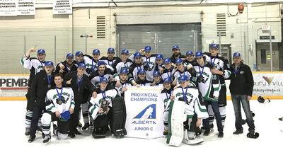 2018 Alberta Junior C Champions Sherwood Park Renegades