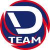 D team logo