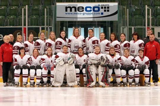 Time For Latvian Women Team