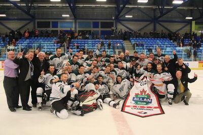 2017 Allan Cup champs Grand Falls-Windsor Cataracts