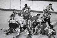 22Feb1968-Bruins Wings brawl