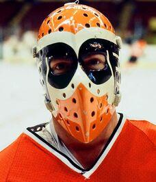 Wayne Stephenson's mask