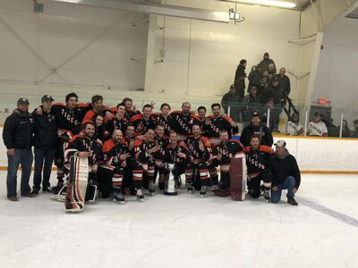 2018 THL champions Rocanville Tigers