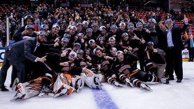 2018 ECAC Men's champions Princeton Tigers