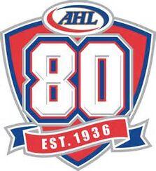AHL 80th anniverary logo