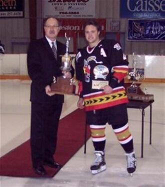 Scott Macaulay receives Brian Kozak Memorial Award