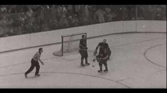 1958 04 09 New York Rangers at Boston Bruins