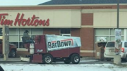Zamboni at Tim Hortons