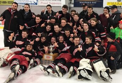 2017 IJHL champs Western Red Wings