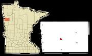 Ada, Minnesota Map