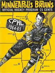 Minneapolis Bruins 1964-65 CPHL