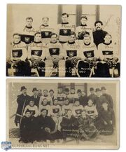 1907 Montreal Wanderers teams pictrures