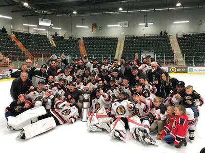 2018 LNAH champions Sorel-Tracy Eperviers