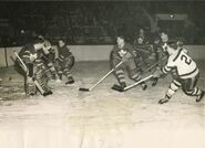 2Mar1952-Chevrefils scores on Rollins