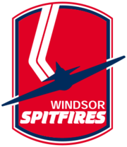 Windsor Spitfires 1989-2008 logo