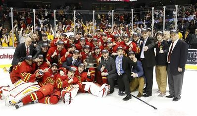 2016 WCHA champs Ferris State