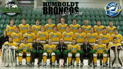 2017-18 Humboldt Broncos team picture