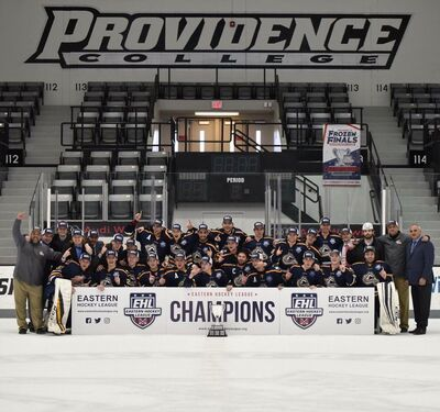 2018 EHL champions New Hampshire Avalanche