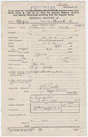 Frank mcgee enlistment