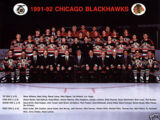 1991–92 Chicago Blackhawks season