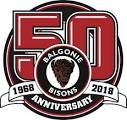 Balgonie Bisons 50th logo