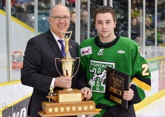 Jeremey Leipsic (2017 Lorne Lyndon for Hockey Ability & Sportsmanship)