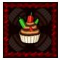 Chili Chocolate Cupcake Stamp