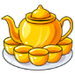 Solid Gold Tea Set