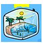 Beach Ice Cube