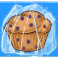 Frozen Blueberry Muffin