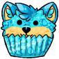 Blue Ridix Cupcake