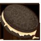 Dark Chocolate Cream Cookie