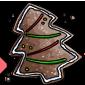 Gingerbread Christmas Tree Cookie