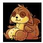 Brown Dabu Plushie