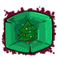 Christmas Tree Ice Cube