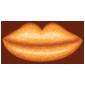 Orange Gummy Lips