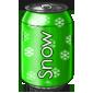 Kiwi Snow Soda