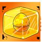 Fire Jakrit Egg Ice Cube