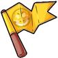 Team Yellow Sharshel Flag