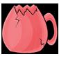 Pink Jakrit Egg Cup