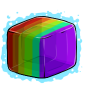 Rainbow Ice Cube Before 2015 revamp