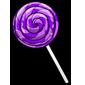 Grape Lollipop