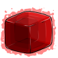 Red Ice Cube Before 2015 revamp