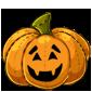 Carved Pumpkin Plushie