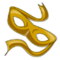 Yellow Bandit Mask