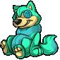 Bluegreen Wulfer Plushie