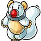 White Audril Balloon