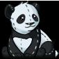 Cuddly Panda Plushie