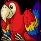Cuddly Red Macaw Plushie
