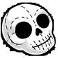Skull Plush